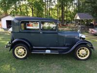 1929 FORD MODEL A ALL ORIGINAL!!! RUNS EXCELLENT!!!!