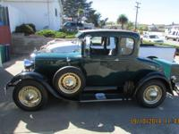 1929 Ford Model A, runs great, always garaged. Call for