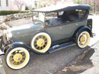 1929 Ford Model A Touring Car Antique Fully restored