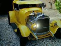 """1929 Ford Model A (FL) - $28,000 """"Hot Rod Cruiser"""" RWD"""