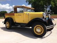 1929 Ford Model A Pick Up for sale (TX) - $17,900 1929