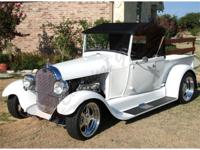 This is one very cool 1929 Ford Roadster Pick Up that