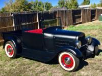 1929 Ford Model A Roadster Pickup Street.  Is an all