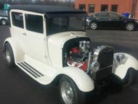 All steel fully restored 2 door street rod, no rot at