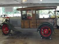 Very nice 1929 Ford Model A Woody with a 4cyl engine