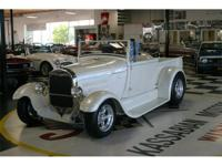 Fully Restored All Steel 1929 Ford Roadster Pickup -