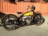 1929 Indian Chief 101 Scout Clear. 1929 101 indian