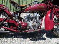 ************ Indian 101 Scout restoration paint. The