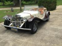 1929 Mercedes Replica Convertible for sale. 5 new