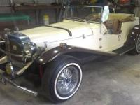 This is a great 1929 Mercedes replica. It has a freshly