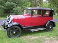 1929 Model A Ford - Briggs Fordor sedan, complete body,