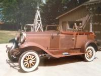 1929 Whippet Touring Car ..4DR Convertible Phaeton