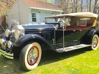 1929 Packard 640 Super 8 Dual Windshield Phaeton (PA) -