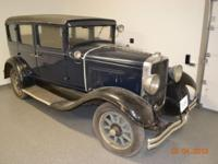 All original vehicle for preservation or full
