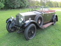 1929 ROLLS ROYCE 20 Twenty Tourer H.J. Mulliner.Oil