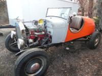 1929 Ford Speedster with a clear title. It has a newly