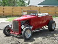 1930 steel Ford roadster with some 'glass parts-'32