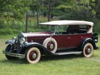 1930 LaSalle 340 Five-Passenger Fleetshire Phaeton by