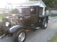 1930 Chevy 1/2 ton pickup. All steel 350 Mild can,
