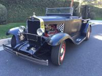 AWESOME Rare 1930 Chevy Roadster Pick Up Hot Rod. Super