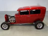 This 1930 Ford 5-window Sedan is an excellent example