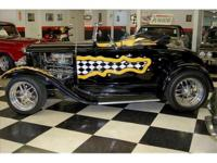 1930 Ford ModeL A DeLuxe Roadster with Rumble Seat,