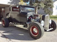 Titled and registered as a 1930 Ford. Body: all steel