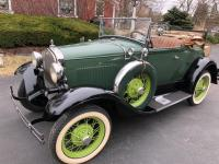 1930 Ford Model A Deluxe Roadster.  This model the