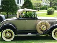 1930 Ford Model A Deluxe Roadster for sale (CT) -