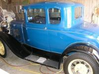 This is a nice classic 1930 Ford Model A with Rumble