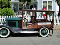 1930 FORD MODEL A HUCKSTER WAGON Pinto motor #2000