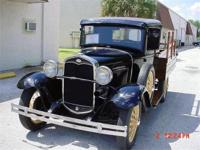 1930 Model A Ford pickup truck- a custom built ORIGINAL