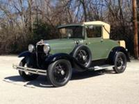 1930 Ford Model A Sport Coupe ..A 95+ Car ..1,240 Miles