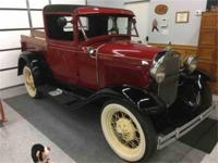 Year : 1930 Make : Ford Model : Pickup Exterior Color :