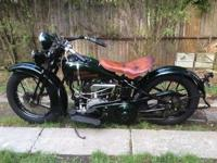 1930 Harley Davidson Flathead V 74. 3 speed. Bikes is a
