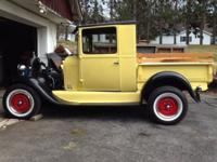 This is a 1930 truck with a 29 cab. The chassis and