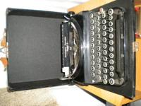 for sale 1930's Antique Remington Model 5 Portable