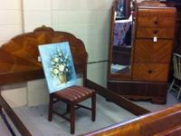Beautiful set of 1930's Waterfall room furniture. Set