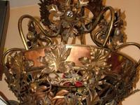 "BALLROOM CHANDELIER Rescued from the "" "" Mansion in"
