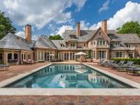 1930s era estate underwent ameticulous renovation in