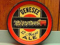 This is a hard to find, 1930's Genesee 12 horse Ale
