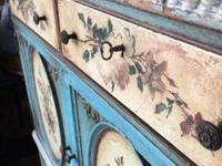 Absolutely gorgeous, hand painted dresser! It is not