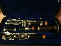1930s handcrafted wooden B flat clarinet in Chicago