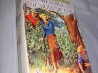 Have a small collection of very early Nancy Drew novels