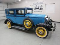 "1930 Willys Overland ""Knight"" Series 70B Sedan. Just a"