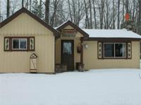 Great hunting/fishing cabin. There is a large bunk room