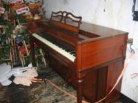 I have a Balwin Spinet Acrosonic Piano for sale. It was