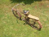 I have a Antique 1930's to 1940's Western Flyer Bicycle
