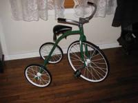 Antique tricycle made by Belknap Hardware & Mfg. Co.