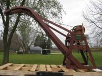 I am selling my 1930's Weaver 3 Ton Wrecking Crane Hand